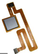 Шлейф для Xiaomi Mi Max со сканером (сенсором) отпечатка пальцев, цвет: серый