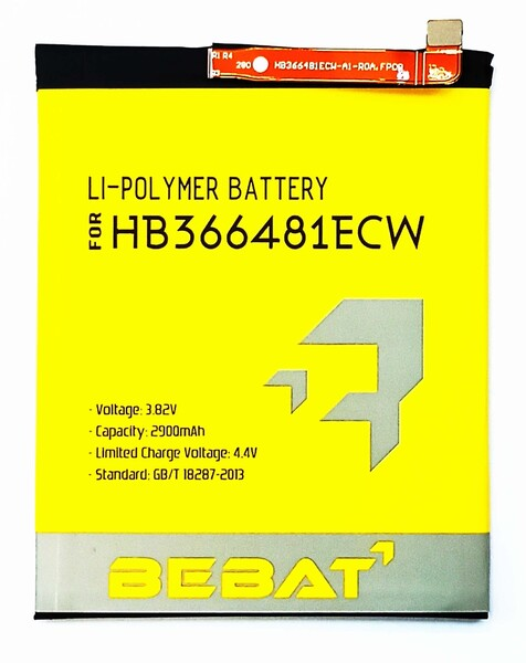 Аккумулятор Bebat для Huawei Honor 8 (HB366481ECW)
