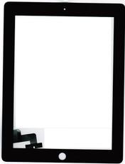 Тачскрин для планшета Apple iPad 2 (A1395, A1396, A1397), цвет: черный