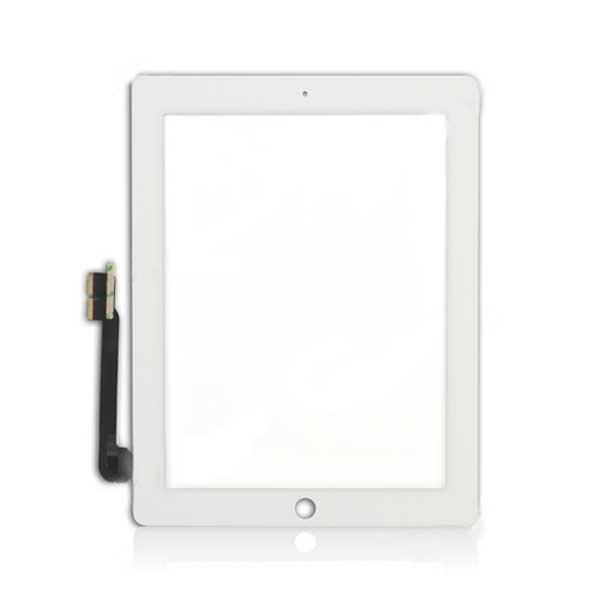 Тачскрин для планшета Apple iPad 4 (A1458, A1459, A1460), цвет: белый