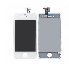 Экран для Apple iPhone 4 с тачскрином, цвет: белый (оригинальный)