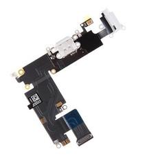 Шлейф разъема зарядки для Apple iPhone 6 Plus (Charge Conn), цвет: белый