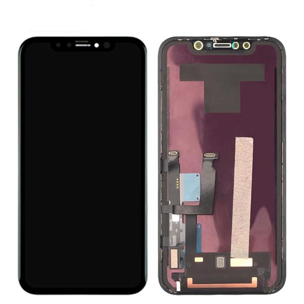 Экран для Apple iPhone 12 mini с тачскрином, цвет: черный (оригинальный дисплей)