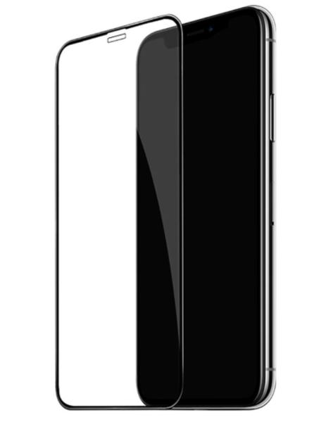 Защитное стекло для Apple iPhone 11 5D (полная проклейка), цвет: черный