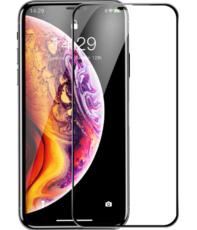 Защитное стекло для Apple iPhone 11 Pro Max 5D (полная проклейка), цвет: черный