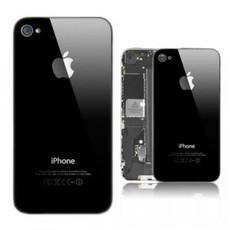 Задняя крышка для Apple Iphone 4S A1387 цвет: черный