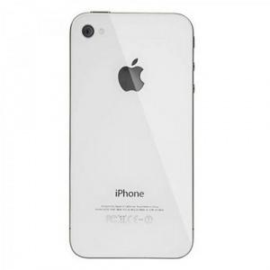 Задняя крышка для Apple Iphone 4 (4G) A1332, A1349 цвет: белый