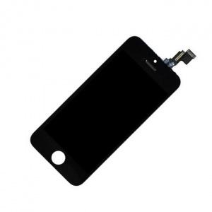 Экран для Apple iPhone 5C с тачскрином, цвет: черный (аналог)