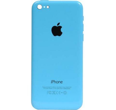 Задняя крышка (корпус) для Apple iPhone 5C (A1532, A1507, A1532, A1456, A1516, A1526, A1529) цвет: голубой
