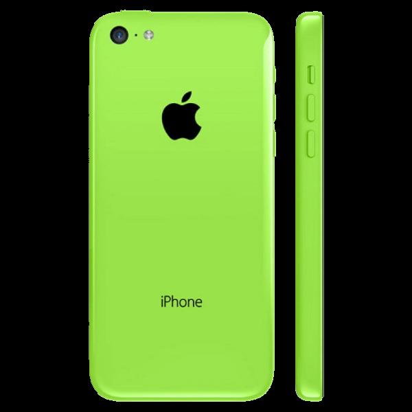 Задняя крышка (корпус) для Apple iPhone 5C (A1532, A1507, A1532, A1456, A1516, A1526, A1529) цвет: зеленая