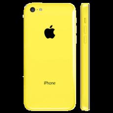 Задняя крышка (корпус) для Apple iPhone 5C (A1532, A1507, A1532, A1456, A1516, A1526, A1529) цвет: желтая