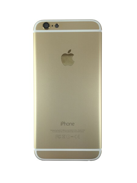 Задняя крышка (корпус) для Apple iPhone 6 6G (A1586, A1549) цвет: золотой