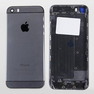 Задняя крышка (корпус) для Apple iPhone 6 6G (A1586, A1549) цвет: темно-серый