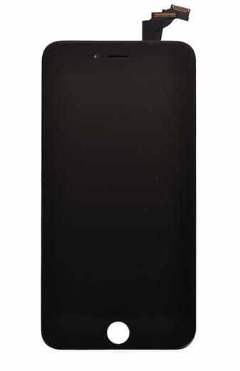 Экран для Apple iPhone 6 Plus с тачскрином, цвет: черный (оригинальный)