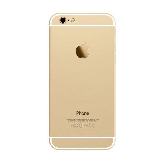 Задняя крышка (корпус) для Apple iPhone 6+ Plus (A1524, A1522) цвет: золотой