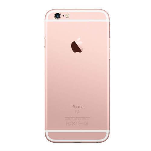 Задняя крышка (корпус) для Apple iPhone 6S Plus (A1634, A1687) цвет: розовое-золото