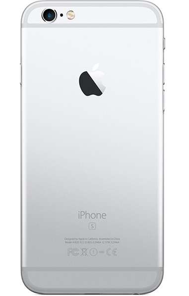 Задняя крышка (корпус) для Apple iPhone 6S Plus (A1634, A1687) цвет: серебристый