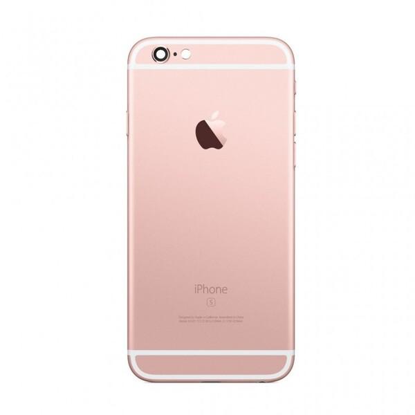 Задняя крышка (корпус) для Apple iPhone 6S (A1688, A1633) цвет: розовое-золото