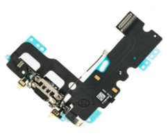 Шлейф разъема зарядки для Apple iPhone 7 (Charge Conn), цвет: черный