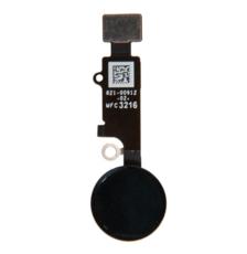 Шлейф кнопки Home для Apple iPhone 8 (механическое нажатие), цвет: черный