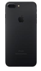 Задняя крышка (корпус) для Apple iPhone 7 Plus (A1784) цвет: черный матовый