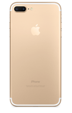 Задняя крышка (корпус) для Apple iPhone 7 Plus (A1784) цвет: золотой