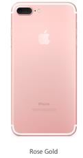 Задняя крышка (корпус) для Apple iPhone 7 Plus (A1784) цвет: розовое золото