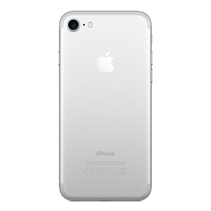 Задняя крышка (корпус) для Apple iPhone 7 (A1660, A1778) цвет: серебристый