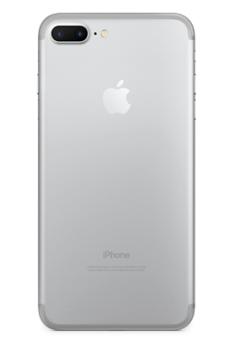 Задняя крышка (корпус) для Apple iPhone 7 Plus (A1784) цвет: серебристый