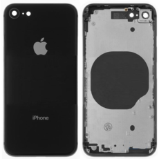 Задняя крышка (корпус) для Apple iPhone SE 2 2020, цвет: черный