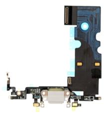 Шлейф разъема зарядки для Apple iPhone 8 (Charge Conn), цвет: белый