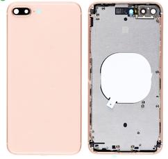Корпус (задняя крышка, рамка, сим-лоток) для Apple iPhone 8, цвет: золотой