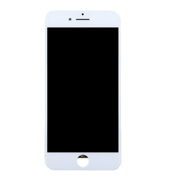 Экран для Apple iPhone 8 Plus с тачскрином, цвет: белый (аналог, технология ALG)