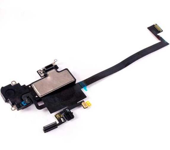 Верхний шлейф с микрофоном, датчиками света и слуховым динамиком (speaker) для iPhone XR