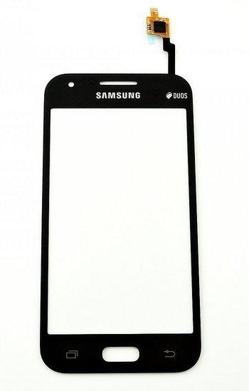 Тачскрин для Samsung Galaxy J1 SM-J100F, цвет: черный