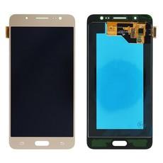 Экран для Samsung Galaxy J5 2016 (J510) с тачскрином, цвет: золотой (оригинал)