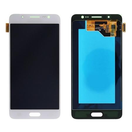 Экран для Samsung Galaxy J5 2016 (J510) с тачскрином OLED, цвет: белый