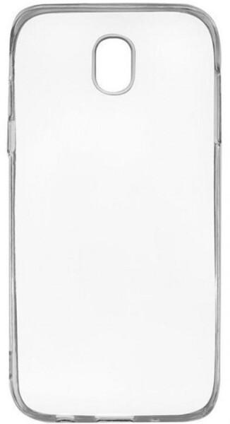 Чехол для Samsung Galaxy J5 2017 J530 силиконовый, цвет: прозрачный