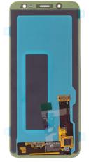 Экран для Samsung Galaxy J6 (J600H) с тачскрином, цвет: черный оригинальный