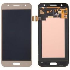 Экран для Samsung Galaxy J7 2015 (SM-J700H) с тачскрином OLED, цвет: золотой