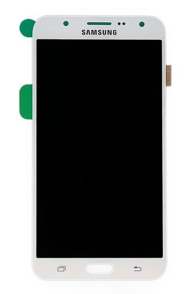Экран для Samsung Galaxy J7 2015 (SM-J700H) с тачскрином, цвет: белый (оригинал)