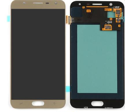 Экран для Samsung Galaxy J7 2016 (J710) с тачскрином OLED, цвет: золотой