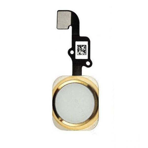 Шлейф кнопки Home для Apple iPhone 6, цвет: золотой