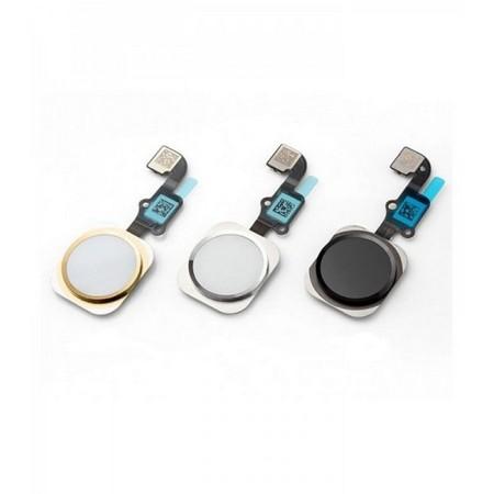 Шлейф кнопки Home для Apple iPhone 6 Plus, цвет: серебро