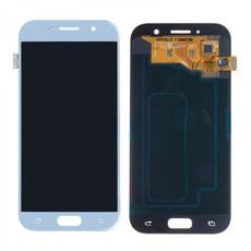 Экран для Samsung Galaxy A5 2017 (SM-A520F) с тачскрином, цвет: голубой (оригинал)