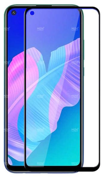 Защитное стекло для Huawei P40 Lite 5D (полная проклейка), цвет: черный