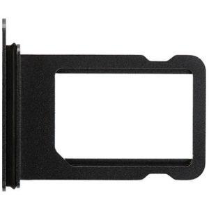 Sim-слот (сим-лоток) для iPhone XS MAX, цвет: черный
