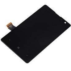 Экран для Nokia Lumia 1020 (RM-875, RM-877) с тачскрином, цвет: черный