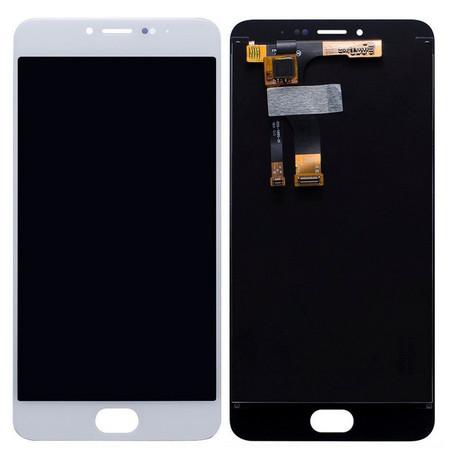 Экран для Meizu M3s Mini (M3s) с тачскрином, цвет: белый