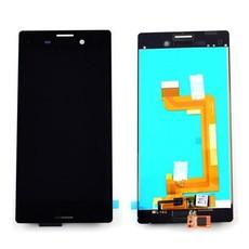 Экран для Sony Xperia M4 Aqua E2303 (E2312, E2333) с тачскрином, цвет: черный (оригинал)